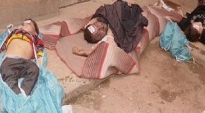 بالفيديو  ..  مقتل 25 شخصاً في هجوم كيماوي بشمال سوريا والنظام يتهم المعارضة