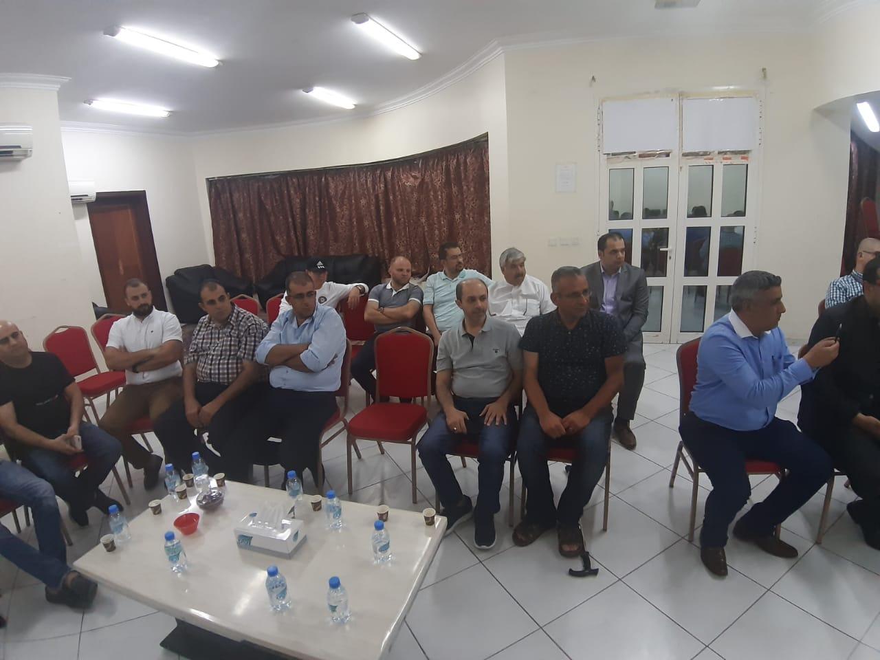 اجتماع لملتقى نشامى الجالية الاردنية في الدوحة لبحث الاستثمار  - صور