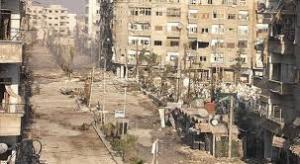 """"""" داريا """" تتحول الى مدينة اشباح بعد خروج آخر دفعة من السكان ودخول قوات النظام"""