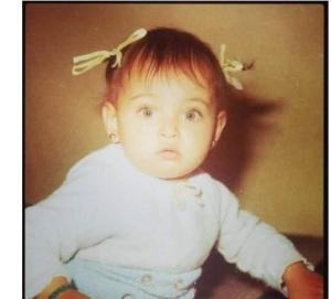 بالصور  ..  خمنوا هذه الطفلة اي نجمة عربية اصبحت الآن؟