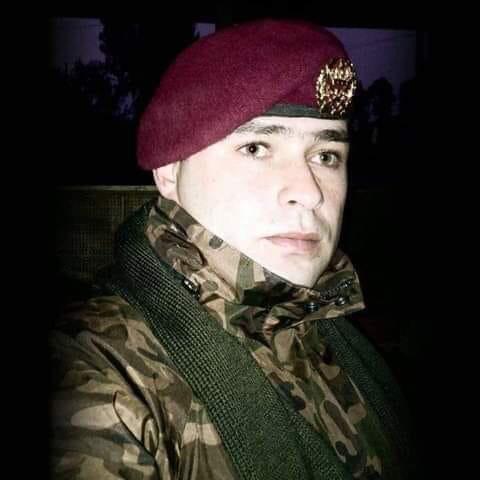 استشهاد ملازم أول من القوات المسلحه أثناء تمرين تدريبي