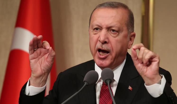 أردوغان يهاجم (الجبناء) بسبب مرسي