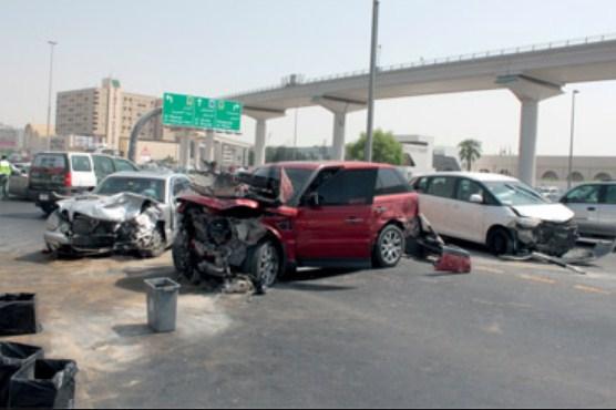 الامارات : وفاة فتاة اردنية و اصابة (5) من افراد عائلتها بحادث سير مروع في دبي