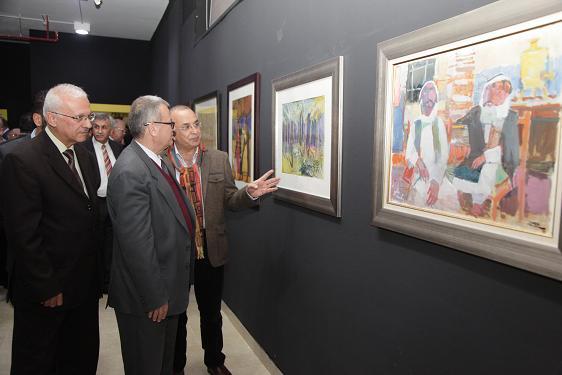 معرض لمختارات رواد الفن التشكيلي العراقي  في جامعة البترا