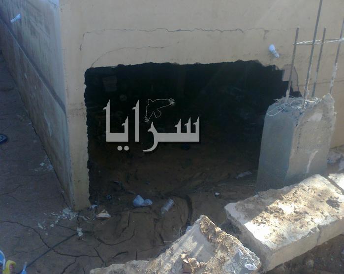 خطأ لامانة عمان يشرد عائلة اردنية ..صور