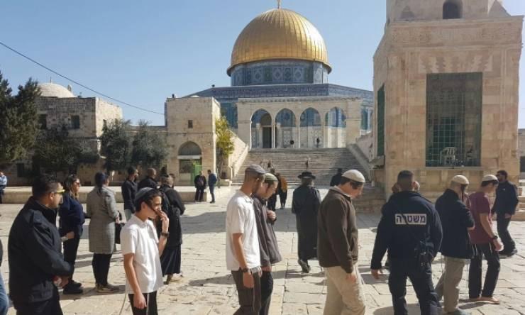 الاحتلال يسمح لأعضاء الكنيست باقتحام المسجد الأقصى شهريا