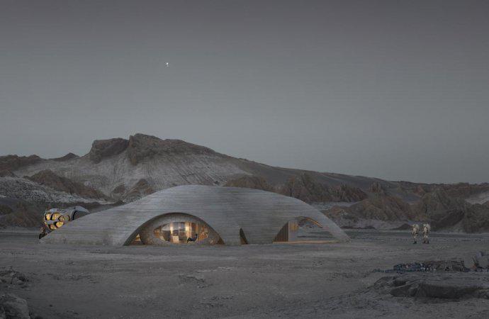 هكذا ستبدو الحياة على كوكب المريخ في المستقبل