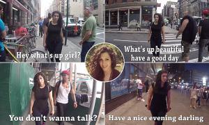 فيديو: فتاة توثّق 100 حالة تحرّش بنيويورك في 10 ساعات!