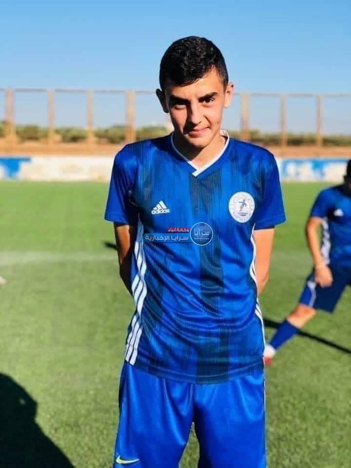 وفاة لاعب الفئات العمرية لنادي الرمثا مفلح الزعبي