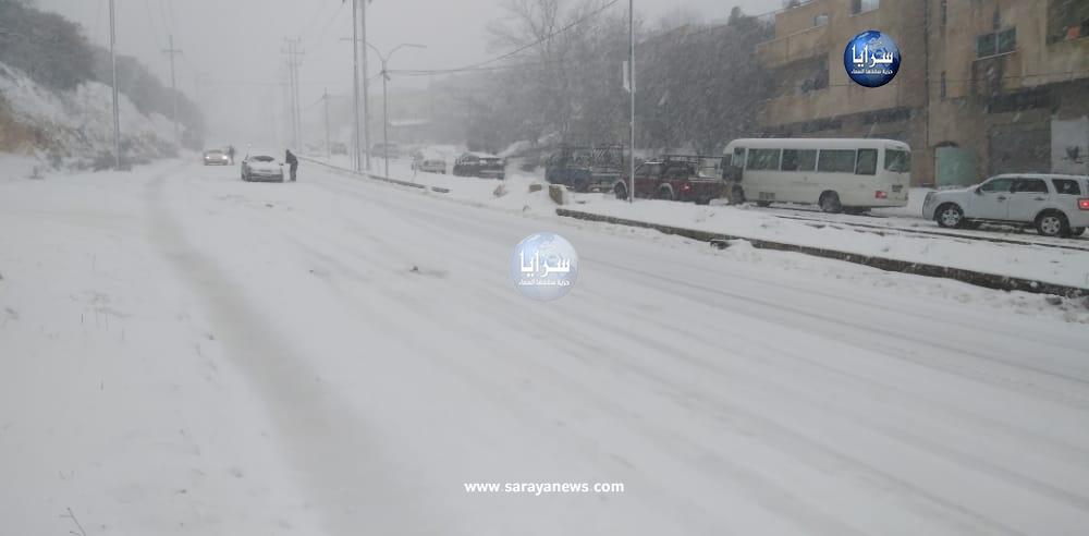 آخر تحديث على المنخفض القطبي وتساقط الثلوج في الأردن