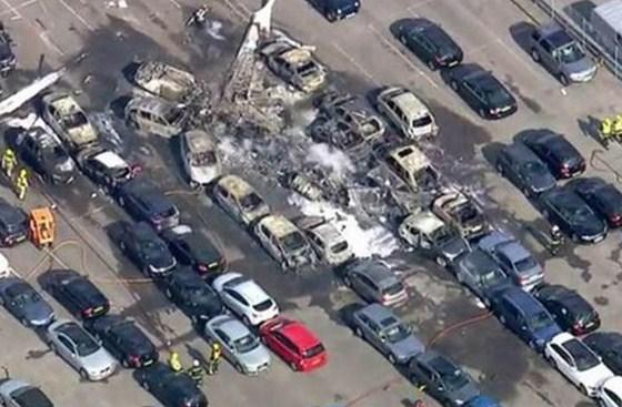 """بالصور والفيديو.. وفاة الطيار الأردني """" مازن الدعجة"""" و3من عائلة بن لادن بتحطم طائرتهم الخاصة ببريطانيا"""
