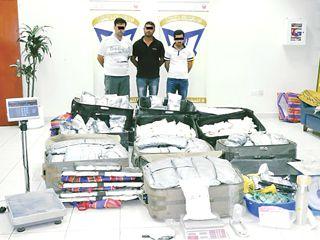 شرطة دبي تحبط تهريب 5 ملايين قرص مخدر بقيمة 115 مليون درهم