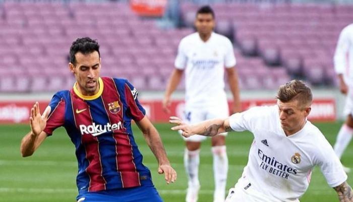 ريال مدريد يفوز على غريمه التقليدي برشلونة بهدفين لهدف