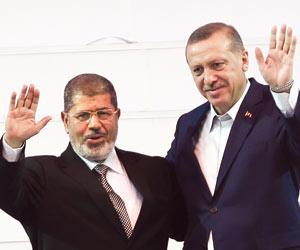 أردوغان  ..  لدينا ما يثبت أن إسرائيل وراء عزل مرسي في مصر
