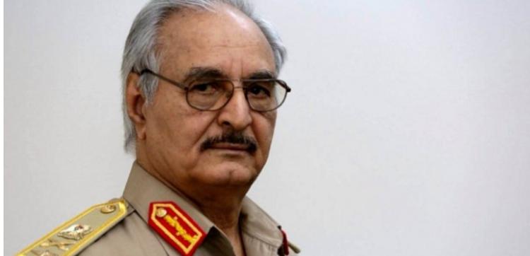 الحكومة الليبية تصدر مذكرة توقيف بحق المشير حفتر