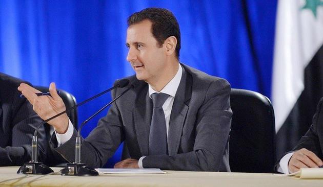 الأسد ردا على كيري : ننتظر الأفعال