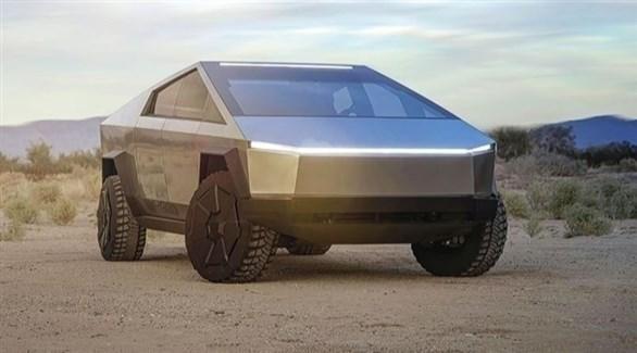 """تسلا تطرح الشاحنة الكهربائية الصغيرة """"سايبر تراك"""" في 2021"""