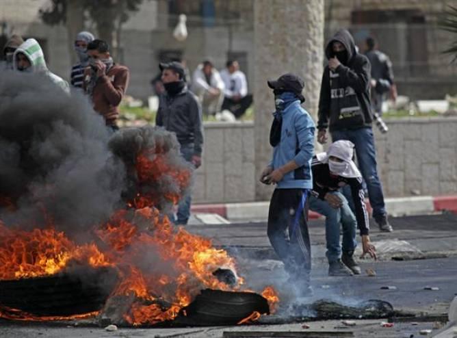 مواجهات مع الاحتلال في 'دير استيا'