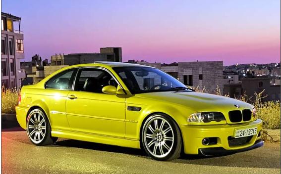 للبيع او البدل BMW E46 M3 325 turbo