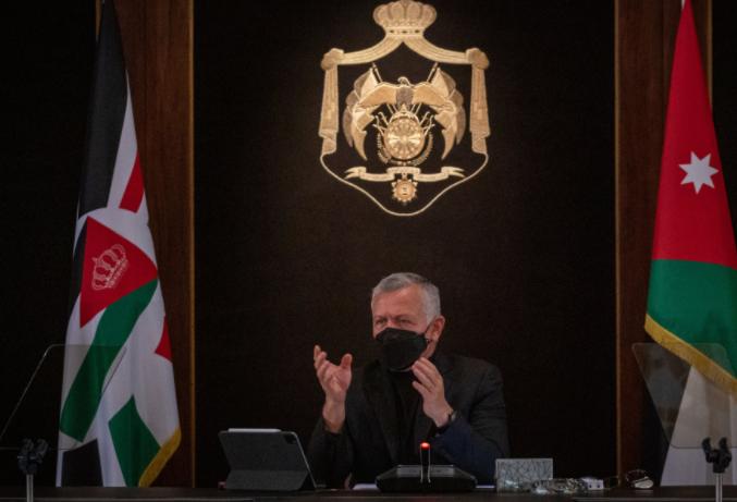 الملك يؤكد على ضرورة تخفيف حدة إجراءات الحظر لتحريك عجلة الإقتصاد