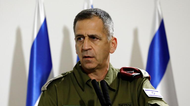 """رئيس الأركان الإسرائيلي: قرار """"الجنائية الدولية"""" لن يردعنا عن مواصلة العمل"""