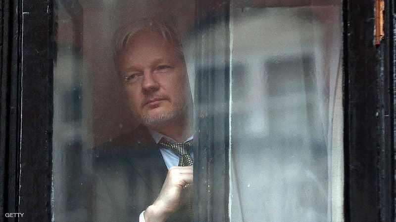 """كشف """"خطة روسية سرية"""" لتهريب مؤسس ويكيليكس"""