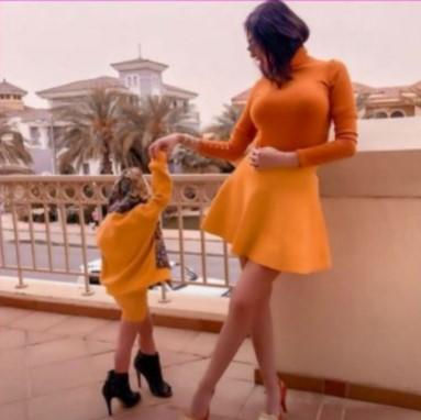 بالفيديو و الصور  ..  ممثلة عربية مثيرة للجدل تعلنها على الملأ: أخطط لتصبح ابنتي رئيسة أمريكا  ..  و ترامب مش أحسن منّا