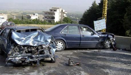 إصابة (10) أشخاص اثر حوادث تصادم متفرقه في محافظة اربد