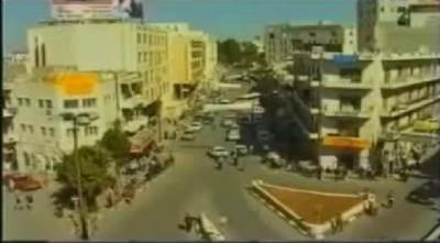 شاهد بالفيديو: كيف كانت مدينة رام الله عام 1994
