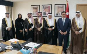 الطراونة يستقبل السفير السعودي ورئيس لجنة الأخوة البرلمانية السعودية -الأردنية ..  صور