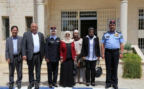 """""""المرأة وشؤون الأسرة"""" النيابية تزور مركز إصلاح وتأهيل الجويدة"""