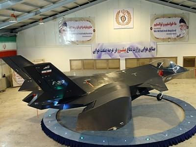 """الطائرة الإيرانية المقاتلة ..  مجرد صورة """"فوتوشوب"""""""
