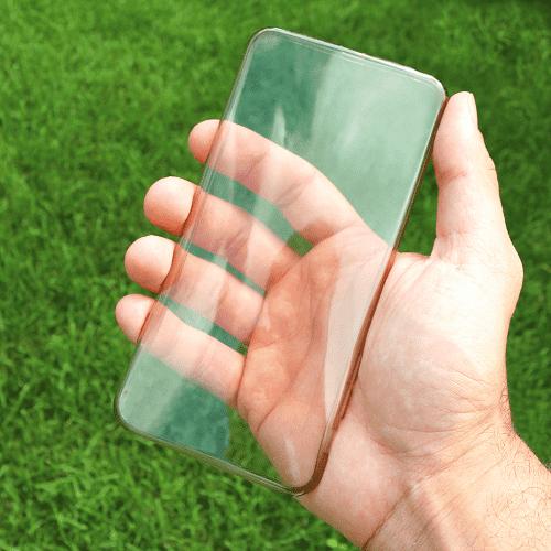 إليكِ طريقة رائعة لتنظيف غلاف الجوال الشفاف